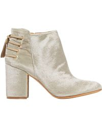 Rachel Zoe Ankle Boots - Natural