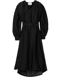 REMAIN Birger Christensen Robe midi - Noir
