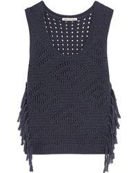 Cotton by Autumn Cashmere Sweater - Blue