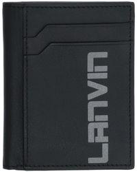 Lanvin Porte-documents - Noir
