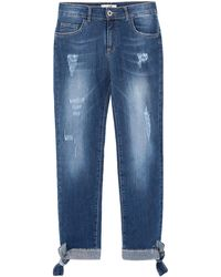 LAB ANNA RACHELE Denim Trousers - Blue