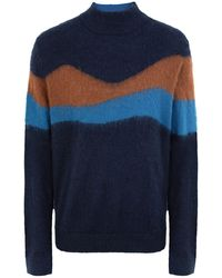 PS by Paul Smith Rollkragenpullover - Blau
