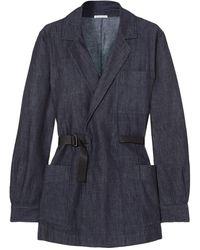 Tomas Maier Suit Jacket - Blue