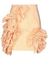 Carmen March Knee Length Skirt - Orange