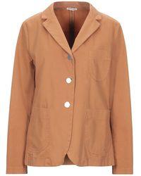 EMMA & GAIA Suit Jacket - Orange