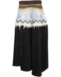 Loewe 3/4 Length Skirt - Green