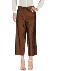 Malloni Trousers - Brown