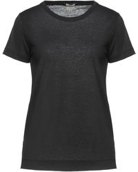Massimo Alba T-shirts - Schwarz