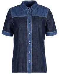 8 - Denim Shirt - Lyst
