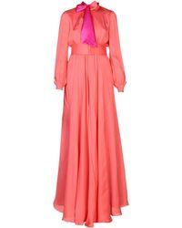 Lanvin Langes Kleid - Pink