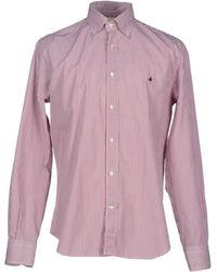 Brooksfield Shirt - Purple