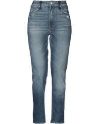 Mother Pantalon en jean - Bleu