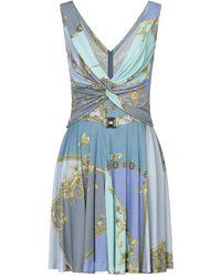 Versace Minivestido - Azul