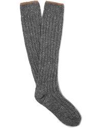 Brunello Cucinelli Socks & Hosiery - Grey