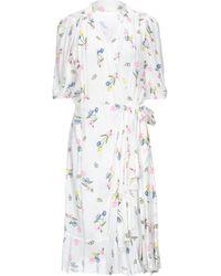 Vivetta Knielanges Kleid - Weiß