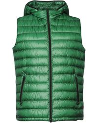 Herno - Zipped Hooded Gilet - Lyst