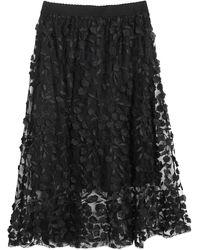I Blues Midi Skirt - Black