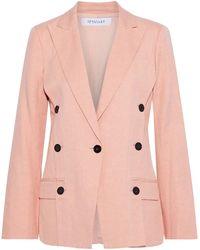 10 Crosby Derek Lam Suit Jacket - Pink