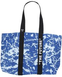 Daniele Alessandrini Homme Shoulder Bag - Blue