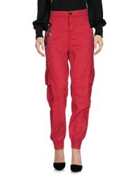 Twin Set Pantalones - Rojo