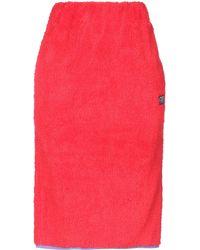 Stussy 3/4 Length Skirt - Red