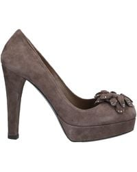 Enrico Lugani Court Shoes - Brown