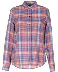 Current/Elliott - Checked Slim Boy Shirt - Lyst