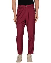 26.7 Twentysixseven Casual Trouser - Purple