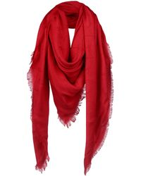 Armani Jeans Square Scarf - Red