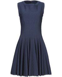 Alaïa Kurzes Kleid - Blau