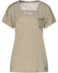 Barbour T-shirts - Natur
