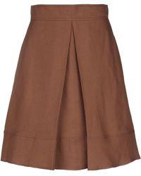 MAX&Co. Midi Skirt - Brown