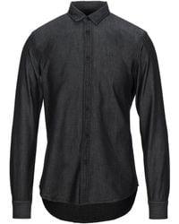Armani Exchange Denim Shirt - Black
