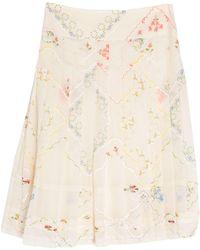 Tory Burch Midi Skirt - White