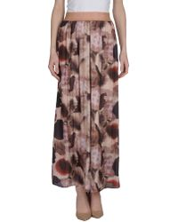 X's Milano - Long Skirt - Lyst