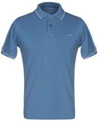 Domenico Tagliente Polo Shirt - Blue