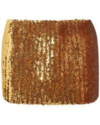 Marc Jacobs Mini-jupe - Métallisé