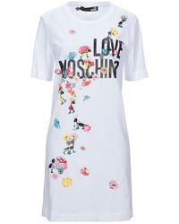 Love Moschino Vestito corto - Bianco
