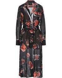 Erika Cavallini Semi Couture Midi Dress - Black