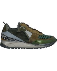 Leather Crown Low-tops & Sneakers - Green