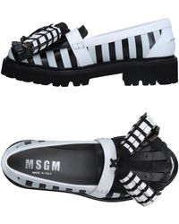MSGM Mocassino - Nero