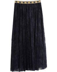 Shirtaporter Long Skirt - Blue