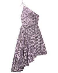 Topshop Unique Short Dress - Purple