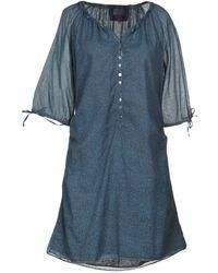 Jeckerson - Short Dress - Lyst