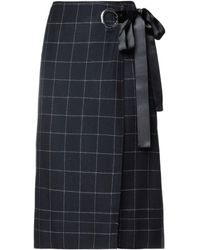 Elizabeth and James Midi Skirt - Black