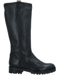 Duccio Del Duca Knee Boots - Black