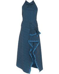 Roland Mouret Vestido largo - Azul
