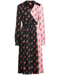 Manoush Vestido midi - Negro