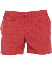 Incotex Swimming Trunks - Red