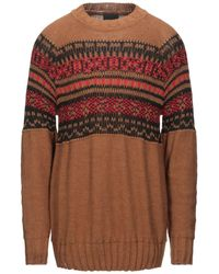 Relive Pullover - Braun